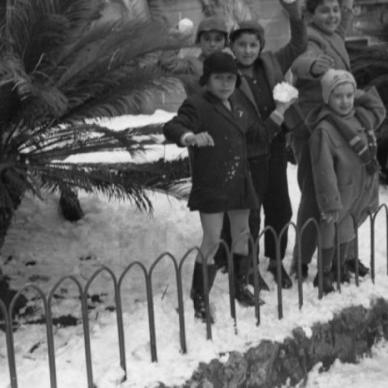 La storica nevicata del febbraio 1956