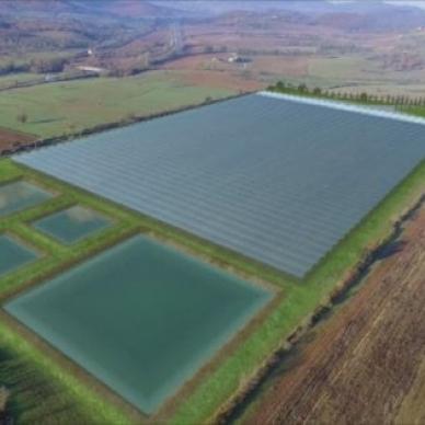 La serra hi-tech più grande d'Italia